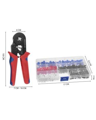 Įvorių presavimo įrankis 0,14-10mm2 - rinkinys