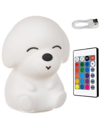 Naktinė LED lempa-šuo