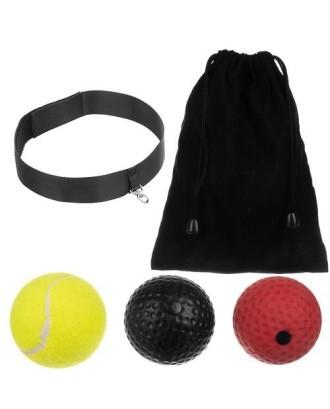 Piłka do ćwiczenia refleksu - zestaw 3 szt