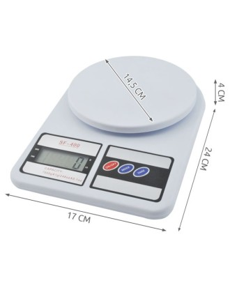 Virtuvinės skaitmeninės svarstyklės 7 kg  # 3464