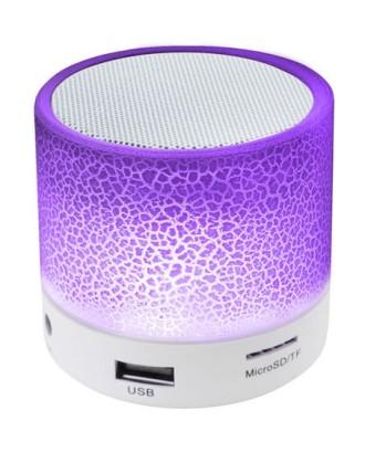 BLUETOOTH belaidis garsiakalbis, švytintis MP3 radijas 4800, baltas