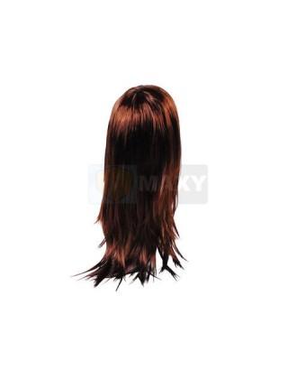 Ilgas tankus moteriškas perukas