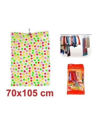 Pakabinamas vakuminis rūbų maišas