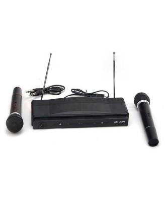 Karaoke komplektas + 2 belaidžiai mikrofonai